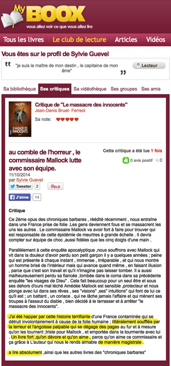 myboox.fr Massacre