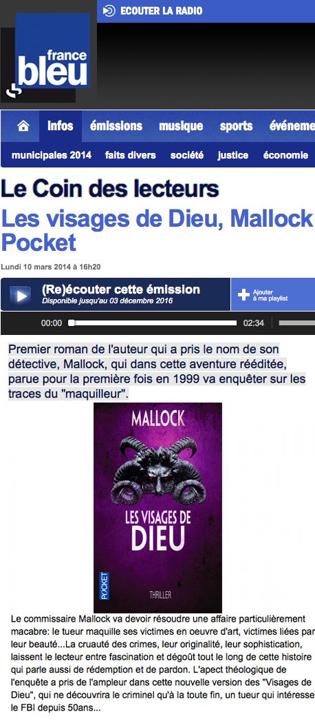 France Bleu 2014 V de D