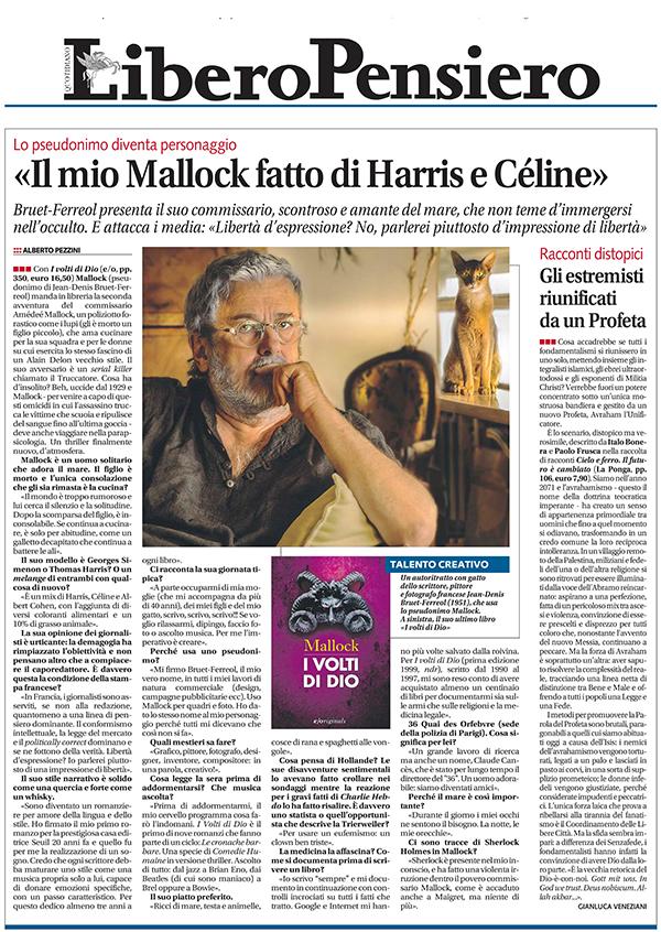 «I Volti Di Dio» & «Il Cimitero Delle Rondini» : Les Italiens découvrent Mallock !